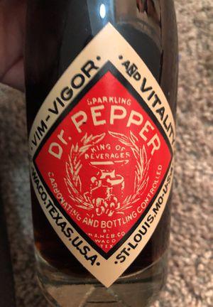 Antique Dr. Pepper bottle for Sale in Los Angeles, CA