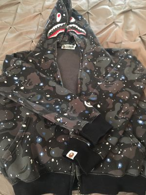 Bape space hoodie adult size small for Sale in Orlando, FL