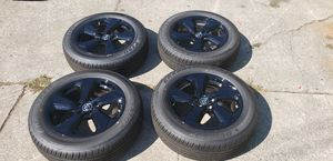 Toyota rims black new W/ Tires for Sale in HILLTOP MALL, CA