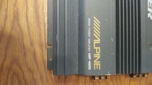 Alpine mono amplifier for Sale in Columbus, OH