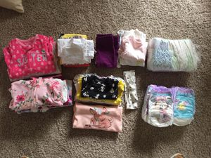 FREE baby girl clothes 3m-12m for Sale in Tacoma, WA