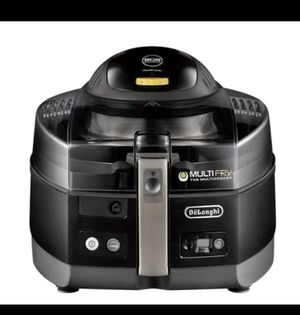 MultiFry Air Fryer and Multicooker (3.3lb) with Double Surround Cooking System by DeLonghi for Sale in Cypress, TX
