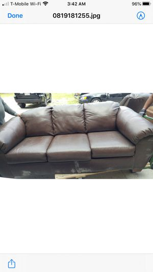 Sofa bed with recliner for Sale in Savannah, GA