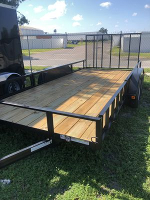 Atv Utility trailer 7x16TA @ Brothers Trailers for Sale in Tampa, FL