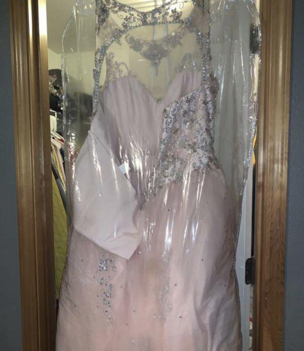 Pink Blush quinceanera dress