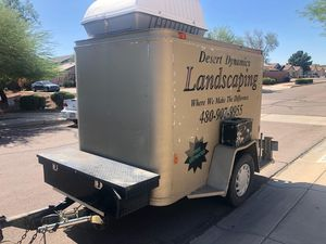 Enclosed 5x8 trailer with new pictures for Sale in Mesa, AZ