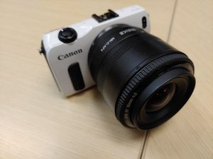 Canon EOS M with lens for Sale in Houston, TX