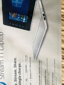 Hp stream 11 laptop new in box for Sale in Ontario,  CA