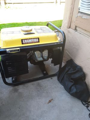 Champion generator 1500 watts for Sale in Sanger, CA