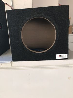"""Subwoofer box for 10"""" sub for Sale in San Francisco, CA"""