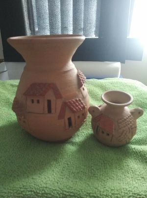 BEAUTIFUL HAND CARVED CLAY POTS!!!! for Sale in Germantown, MD