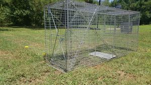 Fox and coyote live trap for Sale in Knightdale, NC