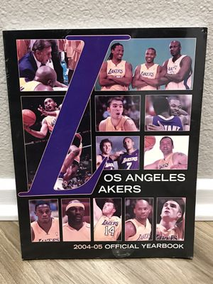 2004-05 Los Angeles Lakers Yearbook for Sale in Ontario, CA