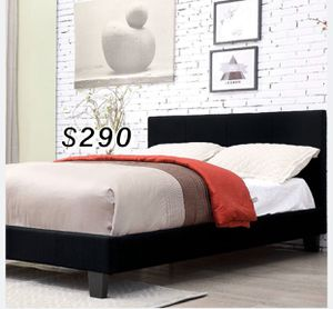 QUEEN BED FRAME W/ MATTRESS INCLUDED for Sale in Los Angeles, CA