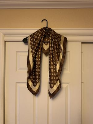Silk Louis Vuitton scarf for Sale in Parker, CO