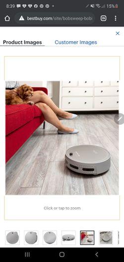 Bobi pet robotic vacuum cleaner and mop silver for Sale in Denver,  CO