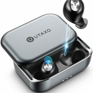 Utaxo Bluetooth 5.0 in-Ear Stereo Headphones Wireless Earbuds 2200mAh Slide for Sale in Huntington Park, CA