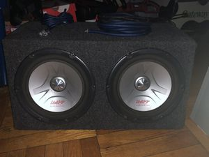 subs with amp for Sale in Falls Church, VA