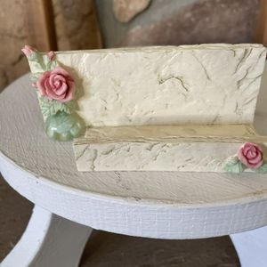 Rose Business Card Holder Vintage Ganz for Sale in Rancho Cucamonga, CA
