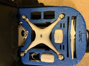 DJI Phantom 4 Drone Professional Full Kit for Sale in Westminster, CO