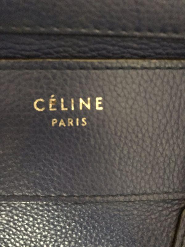 Authentic Celine Phantom Luggage Medium Tote Bag.