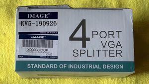 Image 4 Port VGA Splitter for Sale in Memphis, TN