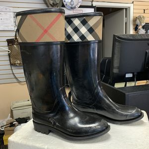 Burberry Rubber Rain Boots (Size 6) for Sale in Scottsdale, AZ