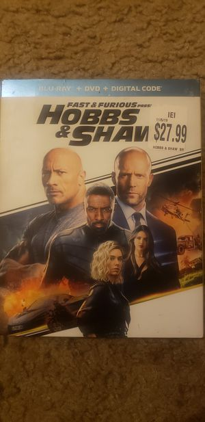 Hobbs & Shaw Blu-Ray. The Lion King Blue-Ray for Sale in Cincinnati, OH