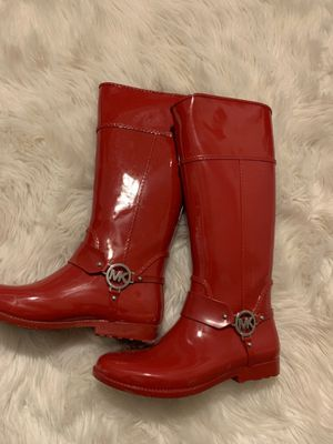 Woman's size 10 Michael kors rain boots for Sale in Waterbury, CT