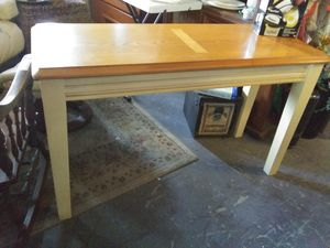 Wood sofa table or tv table for Sale in Pinellas Park, FL