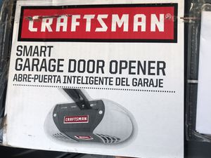 Brand New - Craftsman Smart Garage Door Opener w/ WiFi and Battery Backup - Model 54931 for Sale in Malibu, CA