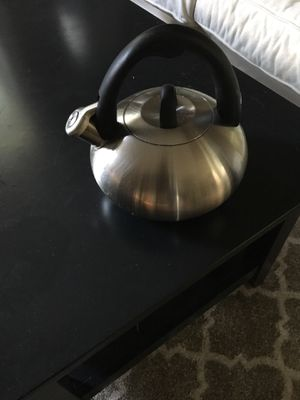 Tea Kettle stainless steel for Sale in Quincy, MA
