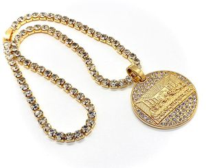 "Tennis Chain With Stainless Steel 18K Gold Plated Cubic Zirconia Pendant Size Length: 18"",20 ,24,26,28"" for Sale in Kissimmee, FL"