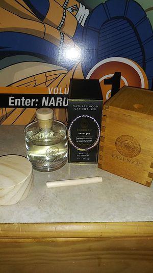 Wood Cap Fragrance Diffuser w/ Decorative Box for Sale in Colma, CA