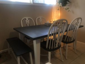 Dining table farm style for Sale in Rockville, MD