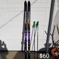 Snow Skis And Poles for Sale in Long Beach,  CA
