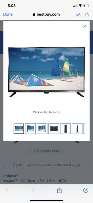 """Insignia™ - 32"""" Class - LED - 720p - HDTV for Sale in Hollister, CA"""