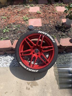 19in 5.114 lug avant guard rims powder coated! for Sale in FL, US