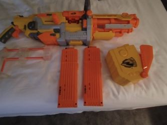 Original Nerf Soft Dart Machine Gun Works As New Collecters Item As Well for Sale in Fort Lauderdale,  FL