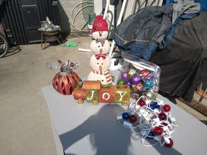 Christmas decorations for Sale in Ontario, CA