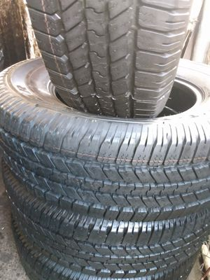 Set of Goodyear Wrangler LT265/70R18 for Sale in Downey, CA