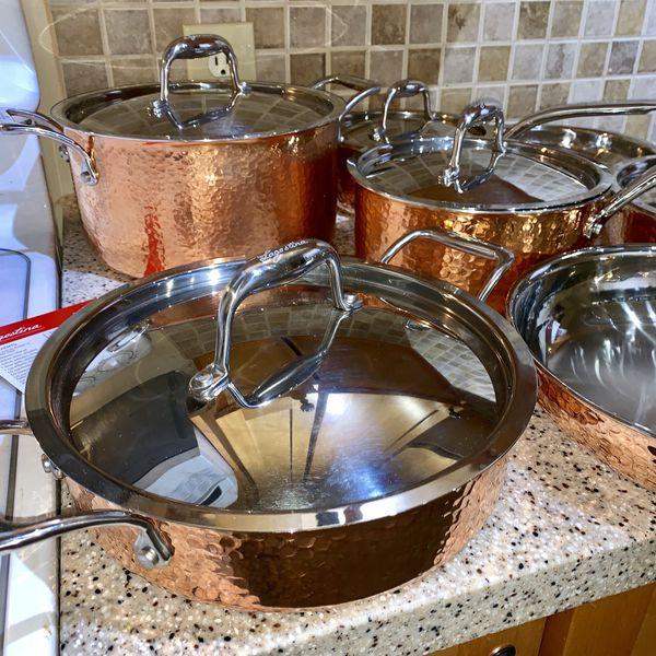 Lagostina 100% Copper Pots & Pans