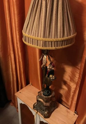 Monkey. Tommy Bahama like. Lamp with shade for Sale in Oakland Park, FL