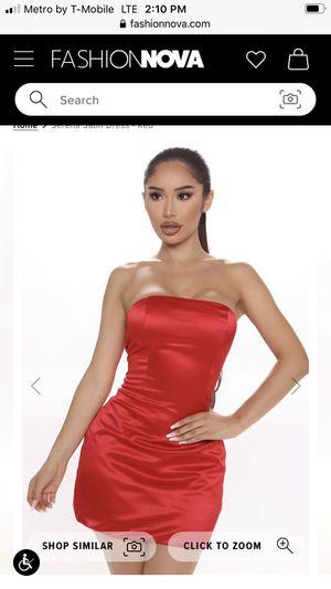 Fashion nova new Satin dress 12$ for Sale in CRYSTAL CITY, CA
