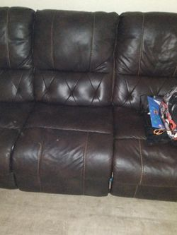 Ashley Brown Reclining Sofa And Loveseat for Sale in Austin,  TX