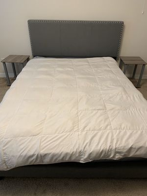 Bed and side tables for Sale in Lynnwood, WA
