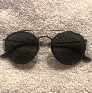 Ray-Ban Polarized Round Double Bridge Sunglasses for Sale in Houston, TX