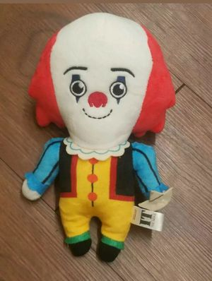 Plush - IT - Pennywise 1990 Standing Phunny Soft Doll kr15515. for Sale in Nashville, TN