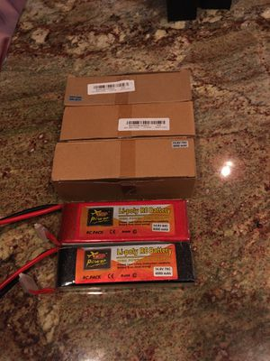 Alot of all kinds of batterys including drone batterys for Sale in Bakersfield, CA