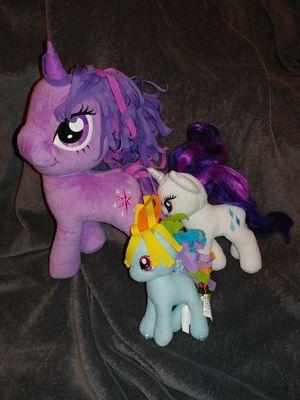 My Little Pony plushy bundle for Sale in Duvall, WA